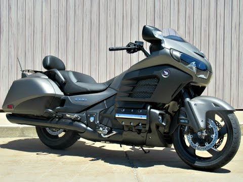 sold 2015 honda gold wing f6b deluxe youtube. Black Bedroom Furniture Sets. Home Design Ideas