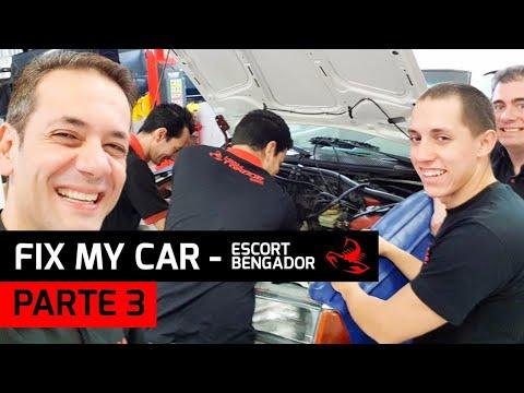 Fix My Car 2. Escort Bengador (PT.3) Desmontando o Ap zão com muita alegria.