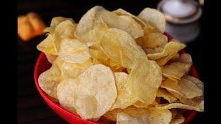 കറുമുറെ കൊറിക്കാൻ ഈസി പൊട്ടറ്റോ ചിപ്സ്/ഉരുളക്കിഴങ്ങ് ചിപ്സ്/Potato Chips/neethas tasteland | 508