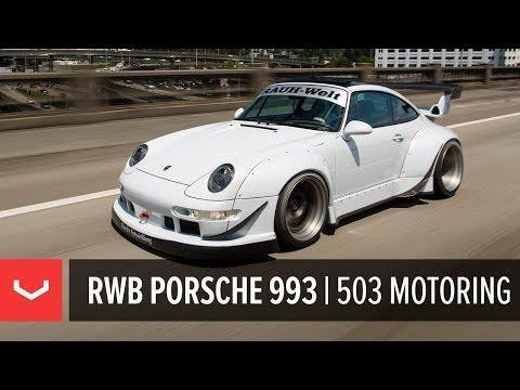 RWB Porsche 993 Targa Widebody | 503 Motoring | Vossen Forged ERA-3 3-Piece Wheels
