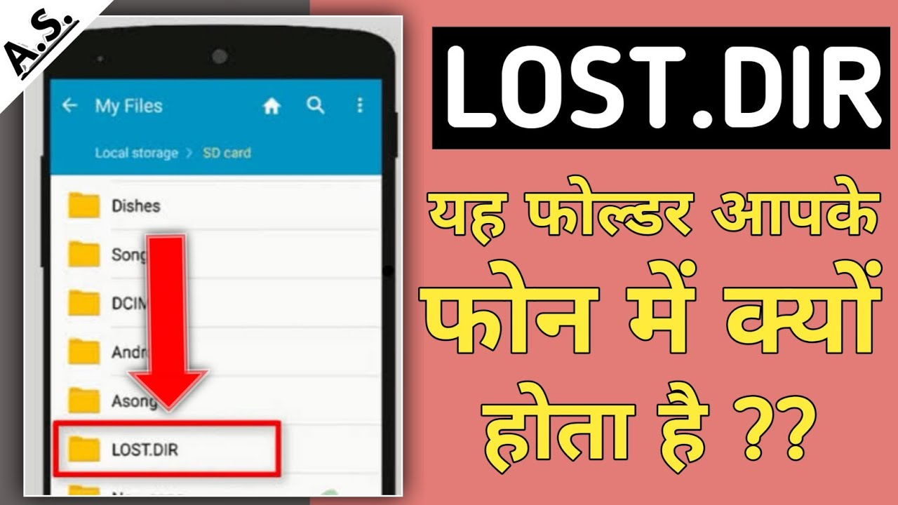 Android Lost.Dir