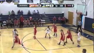 2015-2016 Scott Co Girls Basketball @ Sayre 12-7-15