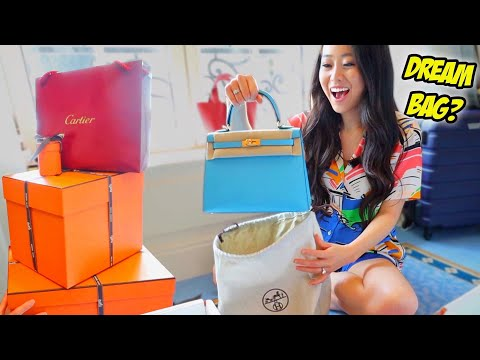 How I got an Hermes Kelly in Paris! A HUGE HAUL