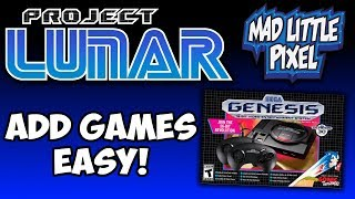 Project Lunar Released For Sega Genesis Mini! How To Get Started & Add Games Easy!