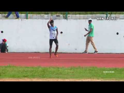 Javelin throw Boys Under 16 Final - Kerala State Junior Athl