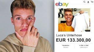 Fan hat 133.300€ für meine UNTERHOSE bei EBAY geboten...