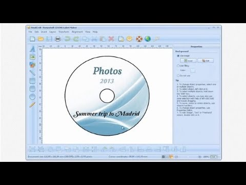 How To Make Cd Labels And Dvd Covers With Cd Dvd Label Maker - Youtube