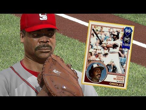 99 EDDIE MURRAY DEBUT!! THIS CARD IS INSANE! MLB THE SHOW 17 DIAMOND DYNASTY