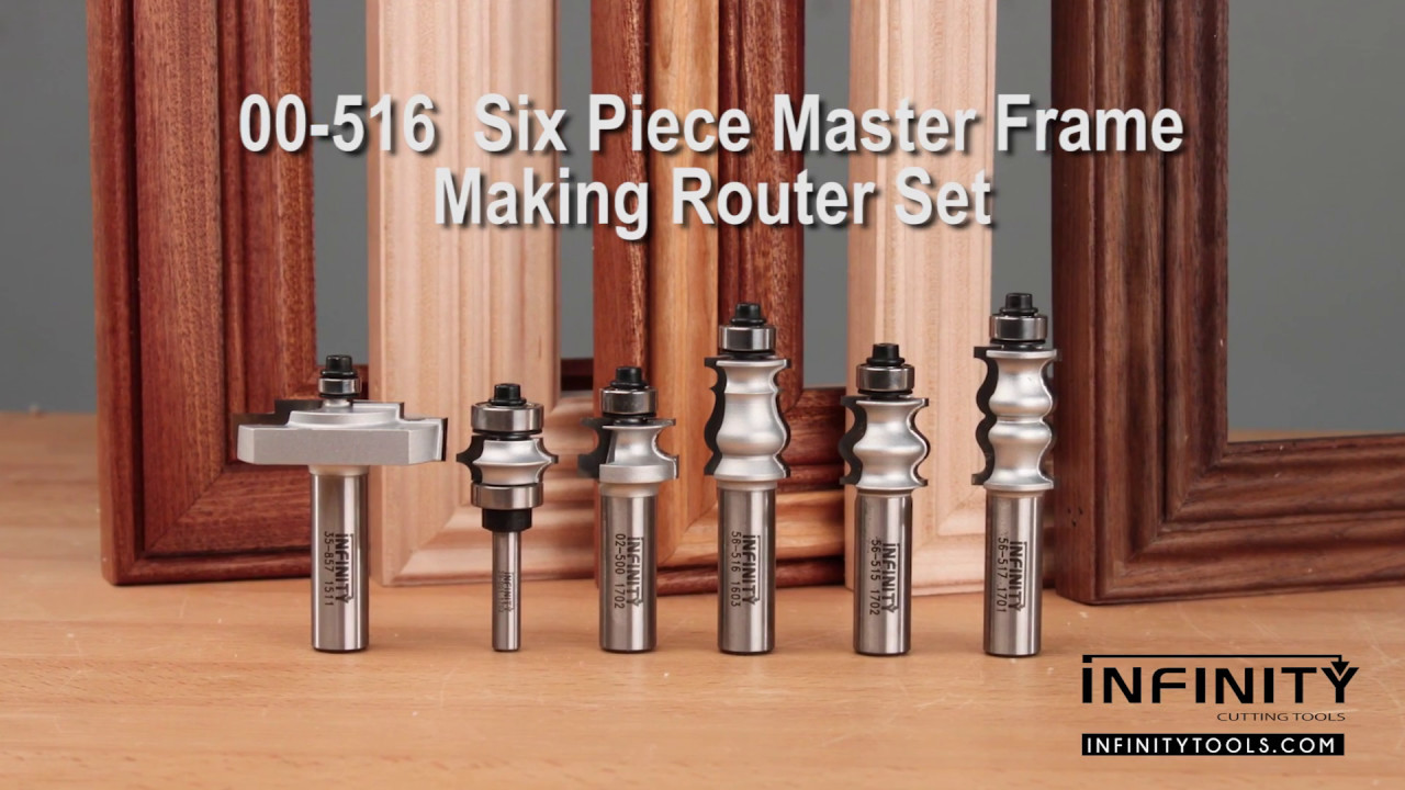 Easy Picture Frames With The Master Frame Making Router Bit Set