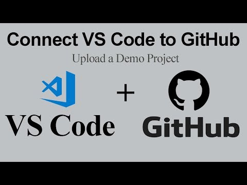 How to connect github with visual studio code