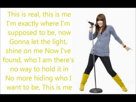 This is me - Demi Lovato & Joe Jonas - Lyrics