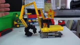 Экскаватор из кубиков LEGO System
