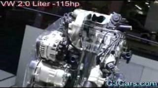 Volkswagen engines VR6 - 2.0 - W8 - V6