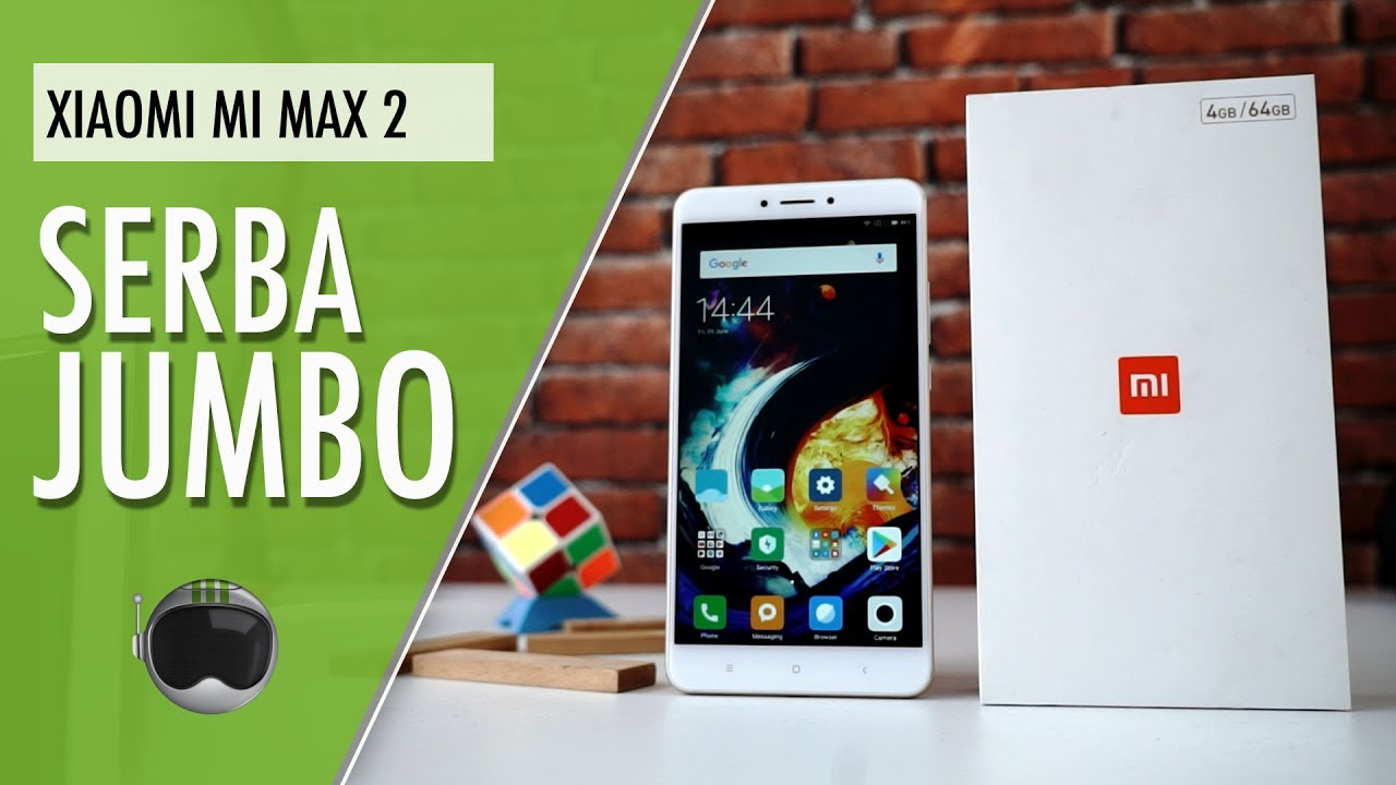 Xiaomi Mi Max 2 Indonesia Unboxing + Hands-on