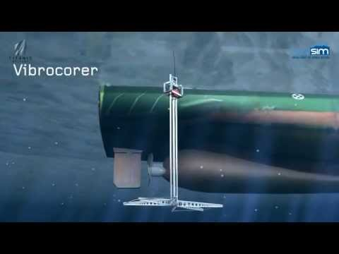 Seabed Sediment Core Extraction Animation