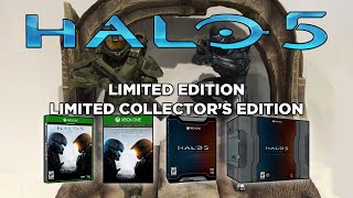 Halo 5: Guardians Editions Details - Limited, Limited Collector