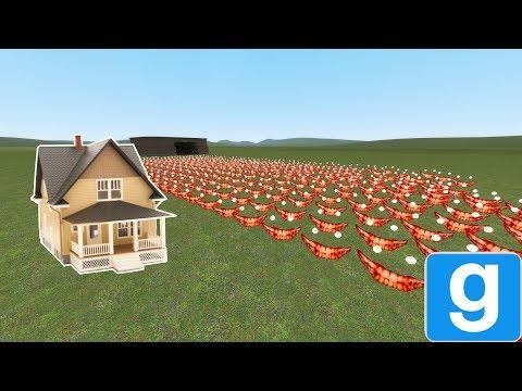 SCARY SCP ARMY VS. HOUSE! - Garry's mod sandbox thumbnail
