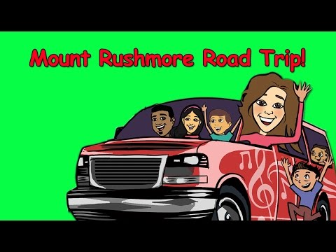 Road trip | Children's Music Tour | Mount Rushmore, SD and Omaha, NE | Tour Stop #12 | Patty Shukla