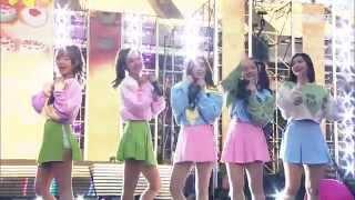 150523 Red Velvet (????) - Ice Cream Cake @ Dream Concert 2015 [1080p]