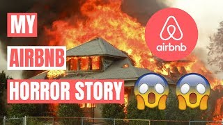 Gambar cover Being An Airbnb Host   1 Year Review (horror story edition)
