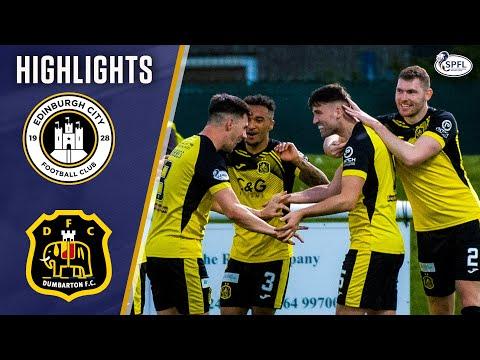 Edinburgh City Dumbarton Goals And Highlights