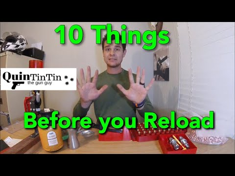 Watch This Before You Start Reloading. 10 Things I Wish I Knew