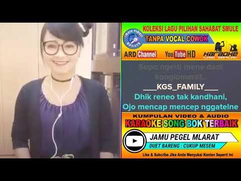 Jamu Pegel Mlarat Karaoke feat Tanpa Vocal Cowok Duet Bareng Cukup Mesem
