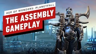 Age of Wonders: Planetfall - Destroying Vanguard as The Assembly Gameplay