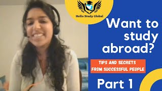 Tips And Secrets To Study Abroad | HSG Students Sharing Their Experience | Part 1