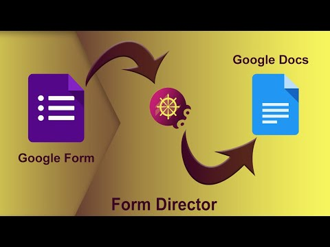 Generate Google Docs & PDFs From Google Forms