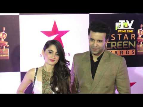 Sanjeeda Sheikh And Aamir Ali Interview At Star Screen Awards 2016| TV Prime Time