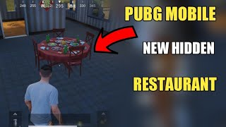 PUBG MOBILE NEW SECRET RESTAURANT ! PUBG MOBILE NEW TIPS AND TRICKS HINDI
