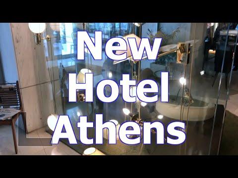 New Hotel In Athens Contemporary Art Design - SantoriniDave.com