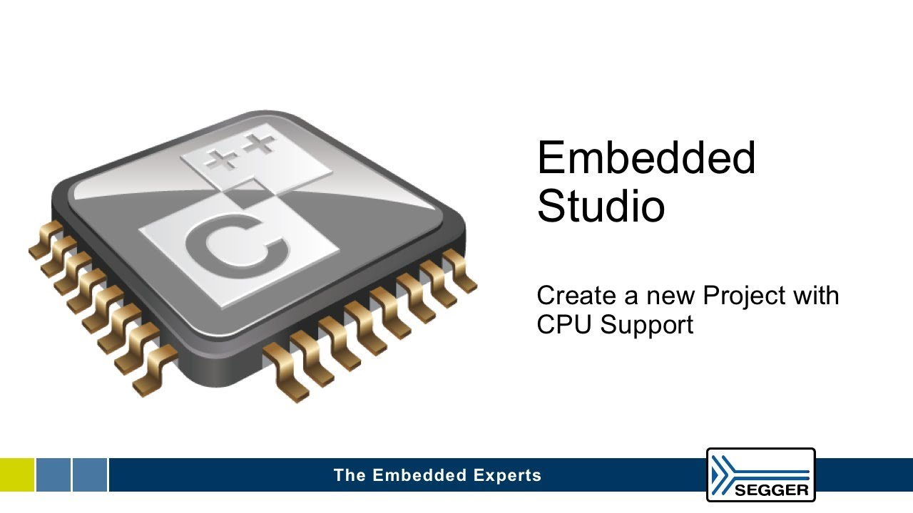 Embedded Studio New Project Creation - YouTube