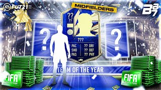 TOTY MIDFIELDERS ARE HERE! TEAM OF THE YEAR LIGHTNING ROUNDS! | FIFA 21 ULTIMATE TEAM