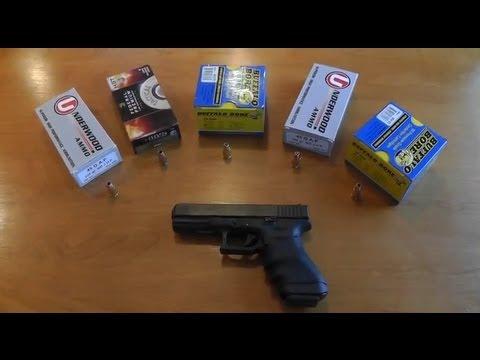Glock 37 45 GAP - Ammo Test - Accuracy, Velocity, Recoil