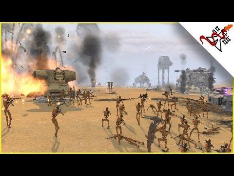 REPUBLIC vs CONFEDERACY - Star Wars: Galaxy at War MOD