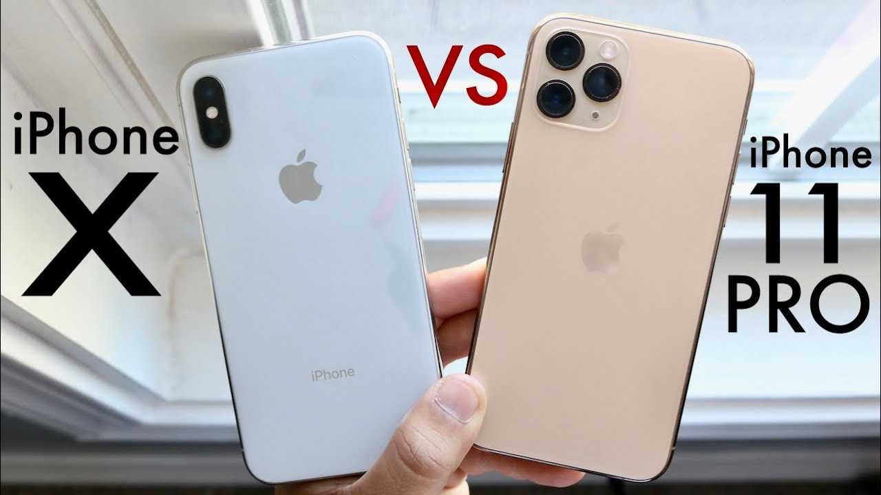 Image result for iPhone X và iPhone 11