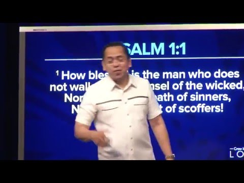Grow in Love - Delight in God's Word: Be Blessed - Bong Saquing
