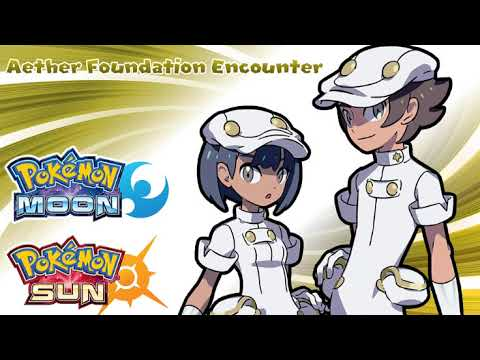 10 Hours Aether Foundation Employee Encounter Music - Pokemon Sun & Moon Music Extended