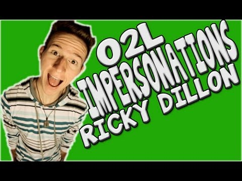 RICKY DILLON IMPERSONATES THE OUR2NDLIFE MEMBERS - YouTube