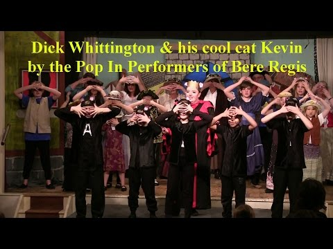 Dick Whittington and his cool cat  Kevin 2015