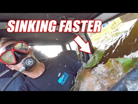 Driving Underwater EP.2 - New Strategy Did Not Pan Out...