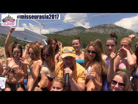 Miss Eurasia-2017. Yacht Tour