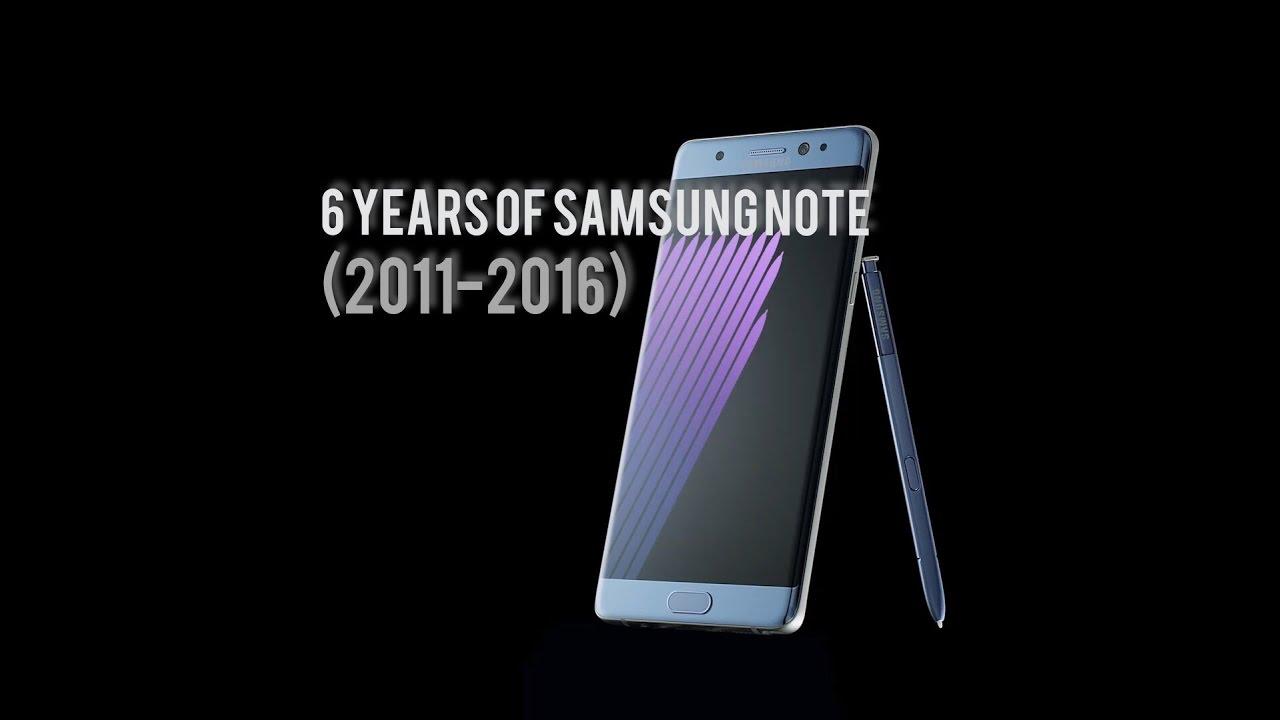 6 YEARS OF SAMSUNG NOTE SERIES  2011-2016 MyTub.uz