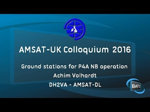 Groundstations for P4A NB operation - Achim Volhardt DH2VA