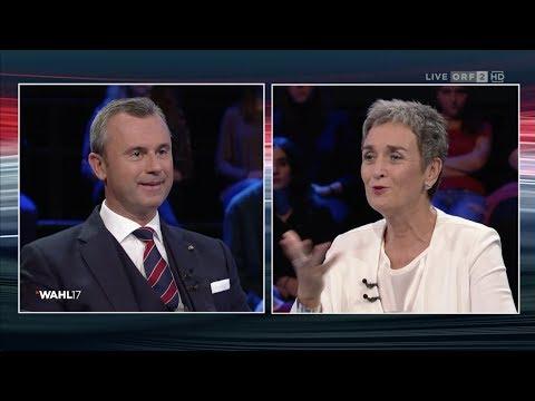 Hofer vs. Lunacek - Wahl 17: ORF-Konfrontation - 19.9.2017