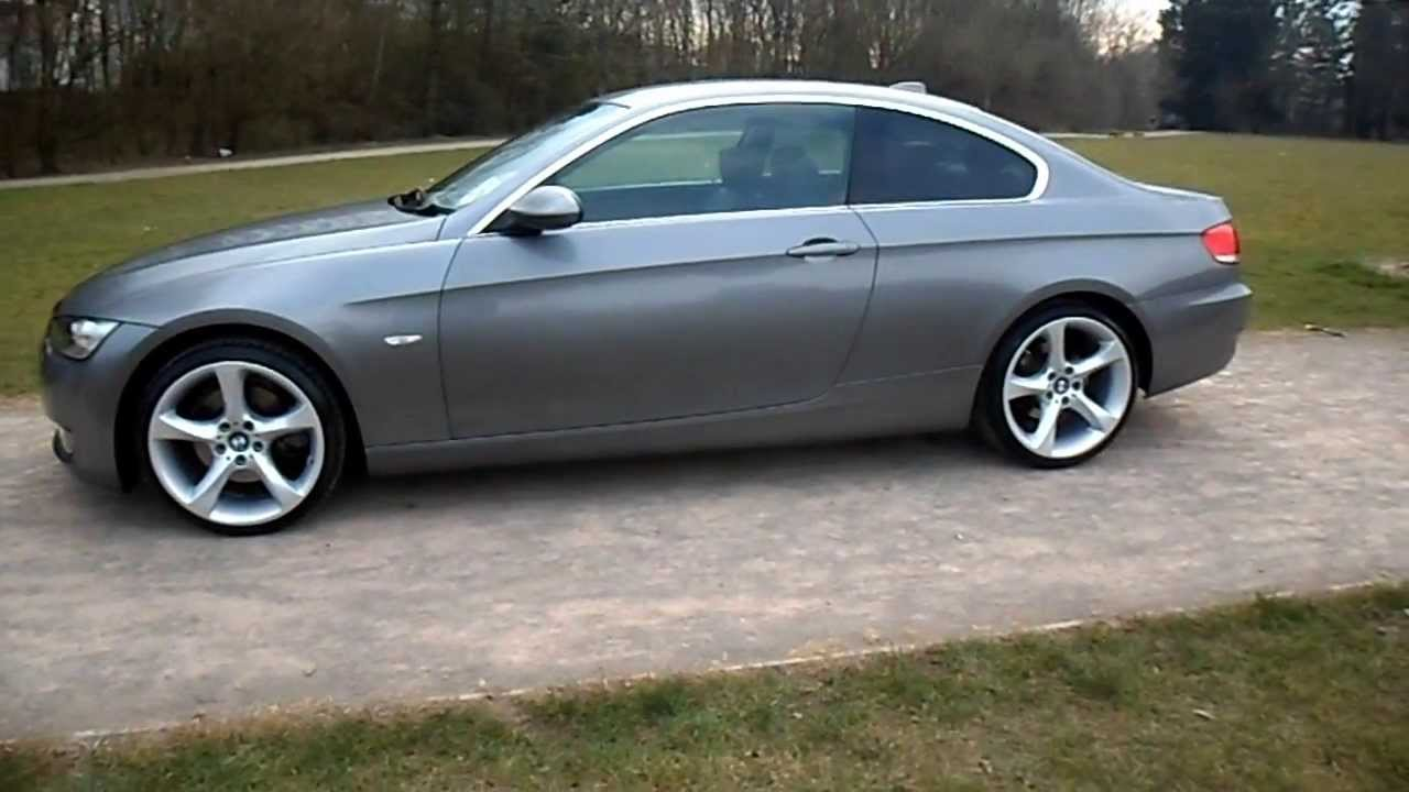 Plate BMW Series I SE Coupe Automatic SOLD YouTube - Bmw 328i 2006
