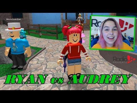 Roblox MURDER MYSTERY 2 | RYAN vs AUDREY