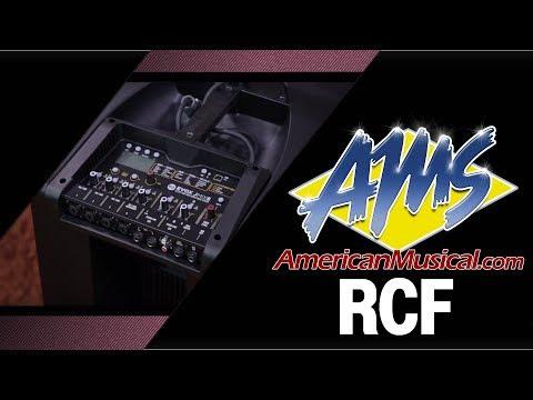 公司貨|RCF EVOX JMIX8 主動式喇叭|立柱型喇叭 外廠喇叭 街頭藝人 可攜帶|凱恩音樂教室